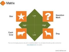 Matrix Ppt PowerPoint Presentation Layouts Templates