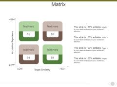 Matrix Ppt PowerPoint Presentation Model Visuals