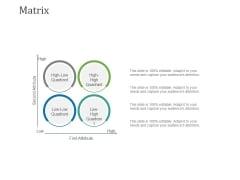 Matrix Ppt PowerPoint Presentation Outline Designs Download