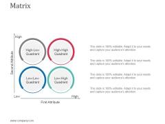 Matrix Ppt Powerpoint Presentation Outline Designs