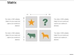 Matrix Ppt PowerPoint Presentation Outline Skills