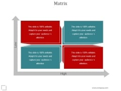 Matrix Ppt PowerPoint Presentation Picture
