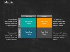 Matrix Ppt PowerPoint Presentation Portfolio Skills