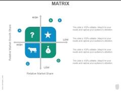 Matrix Ppt PowerPoint Presentation Samples