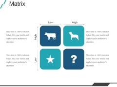 Matrix Ppt PowerPoint Presentation Shapes