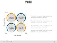 Matrix Ppt PowerPoint Presentation Show Background