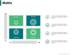 Matrix Ppt PowerPoint Presentation Summary Graphics Tutorials