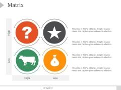 Matrix Ppt PowerPoint Presentation Templates