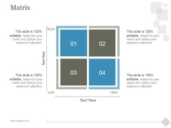Matrix Ppt PowerPoint Presentation Visuals