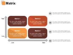 Matrix Risk Estimator Ppt PowerPoint Presentation Gallery Example