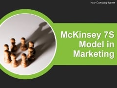 Mckinsey 7S Model In Marketing Ppt PowerPoint Presentation Complete Deck With Slides