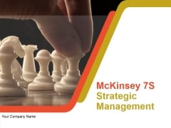 Mckinsey 7S Strategic Management Ppt PowerPoint Presentation Complete Deck With Slides