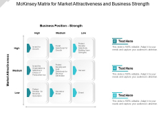 Mckinsey Matrix For Market Attractiveness And Business Strength Ppt PowerPoint Presentation Inspiration Example File