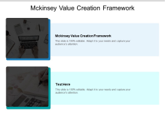 Mckinsey Value Creation Framework Ppt PowerPoint Presentation Infographic Template Layout Ideas Cpb