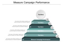 Measure Campaign Performance Ppt PowerPoint Presentation Infographics Slide Portrait Cpb