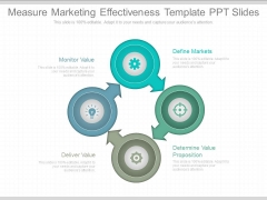 Measure Marketing Effectiveness Template Ppt Slides