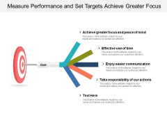 Measure Performance And Set Targets Achieve Greater Focus Ppt PowerPoint Presentation Gallery Slides