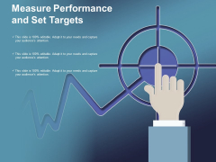 Measure Performance And Set Targets Ppt Powerpoint Presentation Gallery Guidelines