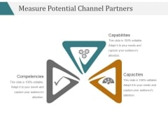 Measure Potential Channel Partners Template 2 Ppt PowerPoint Presentation Visual Aids