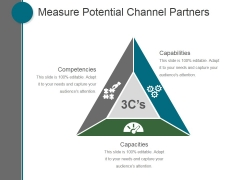 Measure Potential Channel Partners Template Ppt PowerPoint Presentation Show