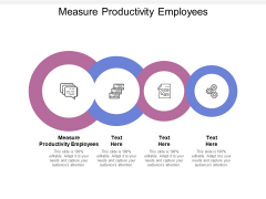Measure Productivity Employees Ppt PowerPoint Presentation File Layout Ideas Cpb