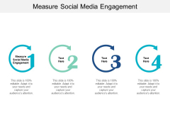 Measure Social Media Engagement Ppt PowerPoint Presentation Show Samples Cpb