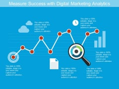 Measure Success With Digital Marketing Analytics Ppt PowerPoint Presentation Gallery Infographics