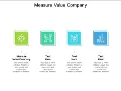 Measure Value Company Ppt PowerPoint Presentation Outline Portfolio Cpb Pdf
