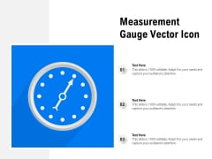 Measurement Gauge Vector Icon Ppt PowerPoint Presentation File Infographics PDF