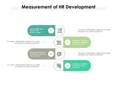 Measurement Of HR Development Ppt PowerPoint Presentation File Deck