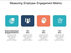 Measuring Employee Engagement Metrics Ppt PowerPoint Presentation Model Portfolio Cpb