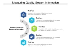 Measuring Quality System Information Ppt PowerPoint Presentation Infographics Templates Cpb