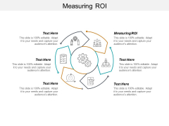 Measuring ROI Ppt PowerPoint Presentation Layouts Graphic Tips Cpb