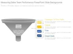 Measuring Sales Team Performance Powerpoint Slide Backgrounds