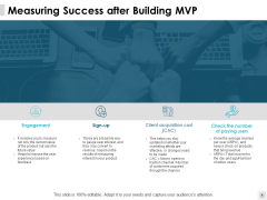 Measuring Success After Building Mvp Engagement Ppt PowerPoint Presentation File Microsoft