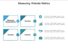 Measuring Website Metrics Ppt PowerPoint Presentation Outline Background Cpb