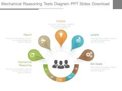 Mechanical Reasoning Tests Diagram Ppt Slides Download