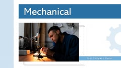 Mechanical Troubleshooting Electronic Ppt PowerPoint Presentation Complete Deck With Slides