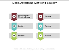 Media Advertising Marketing Strategy Ppt PowerPoint Presentation Outline Aids Cpb