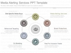 Media Alerting Services Ppt Template