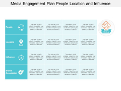 Media Engagement Plan People Location And Influence Ppt PowerPoint Presentation Summary Themes