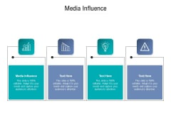 Media Influence Ppt PowerPoint Presentation Pictures Smartart Cpb Pdf