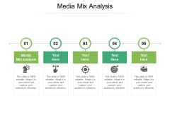 Media Mix Analysis Ppt PowerPoint Presentation Show Format Cpb