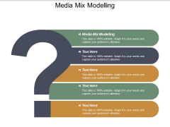 Media Mix Modelling Ppt PowerPoint Presentation Inspiration Layout Cpb
