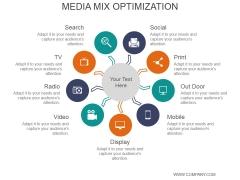 Media Mix Optimization Ppt PowerPoint Presentation Portfolio