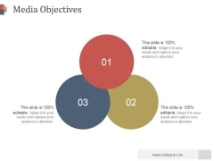 Media Objectives Slide Ppt PowerPoint Presentation Gallery