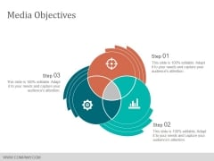 Media Objectives Template 1 Ppt PowerPoint Presentation Gallery Grid