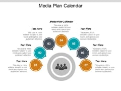 Media Plan Calendar Ppt PowerPoint Presentation Samples Cpb