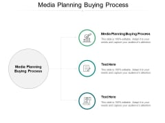 Media Planning Buying Process Ppt PowerPoint Presentation Gallery Slide Cpb