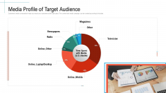 Media Profile Of Target Audience Initiatives And Process Of Content Marketing For Acquiring New Users Template PDF